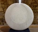 Agean Moon by Dominic Welch, Sculpture, Carrara marble