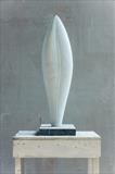 Carrara Form III by Dominic Welch, Sculpture, Carrara marble