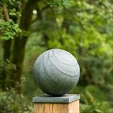 Ionian Sphere by Dominic Welch, Sculpture, Kilkenny Limestone