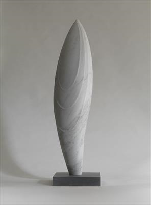 Aspiration II by Dominic Welch, Sculpture, Carrara marble