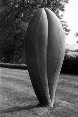 Asthall Plume by Dominic Welch, Sculpture, Kilkenny Limestone