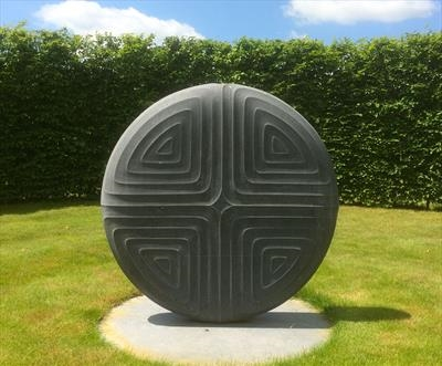 Contemplation III by Dominic Welch, Sculpture, Kilkenny Limestone