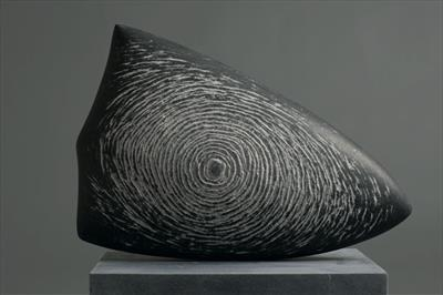 Eclipse IV by Dominic Welch, Sculpture, Kilkenny Limestone