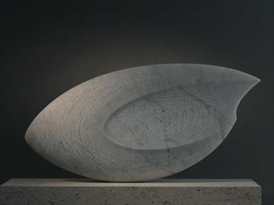 Eclipse V by Dominic Welch, Sculpture, Carrara Marble