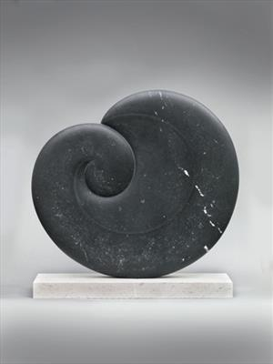 Embryonic XIII by Dominic Welch, Sculpture, Kilkenny Limestone