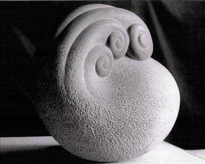 Nautilus by Dominic Welch, Sculpture, Kilkenny Limestone