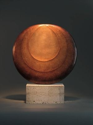Silent Moon (3/11) by Dominic Welch, Sculpture