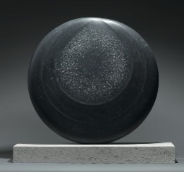 Silent Moon VI by Dominic Welch, Sculpture, Kilkenny Limestone