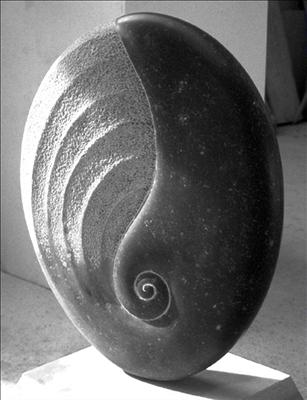 Whorl by Dominic Welch, Sculpture, Kilkenny Limestone